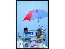 Çok Renkli Tekne Şemsiyesi