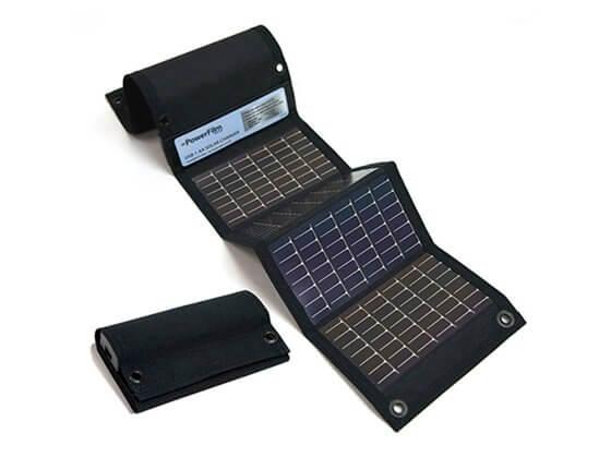 Picture of Güneş Enerjili Şarj Paneli USB+AA Pil İçin