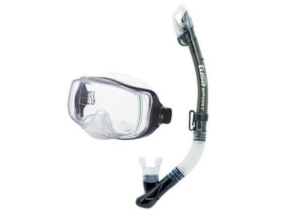 Kapalua Dalış Seti Maske/Şnorkel Füme Görseli