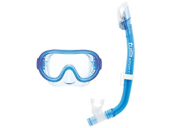 Kapalua Dalış Seti Maske/Şnorkel Mavi Görseli