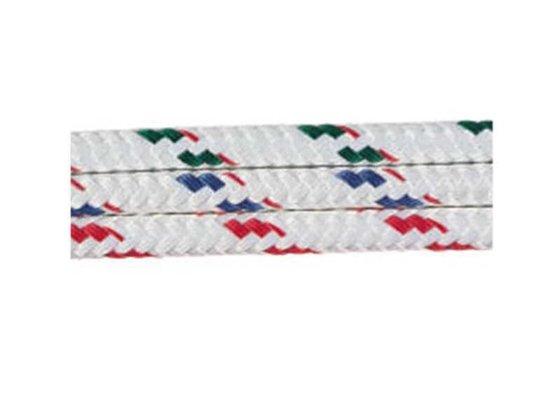 Sta-Set Renk Kodlu Polyester Örme Yat Halatı - Beyaz/Yeşil Benekli Görseli