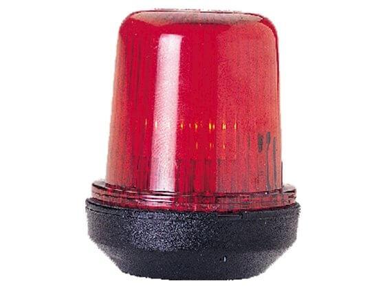 Çapa Feneri - S12 - - Siyah Gövde - Kırmızı Görseli