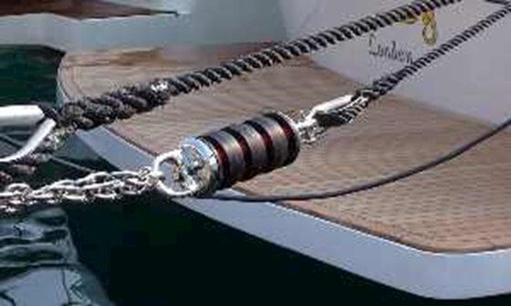 İskele  Halat Esnetici - Master Mooring Jr.18 - 9-13 ton Görseli