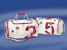Çanta - Yelkenci - Sea Mate - Beyaz/Kırmızı