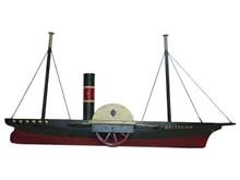 Yandan Çarklı Gemi Modeli