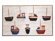 Pano Üzeri Yarım Tekne Burnu Modeli