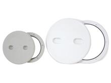 Heç Kontrol - Ayrılabilir Kapak - Beyaz - Yuvarlak - Çap 164 mm