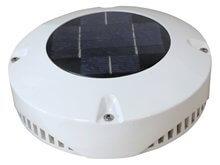 Havalandırma - Solar -  24 Saat - 20 cm. - Beyaz