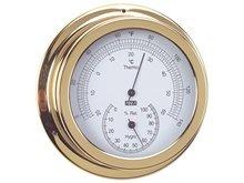 Termometre/Higrometre - Pirinç - 150mm