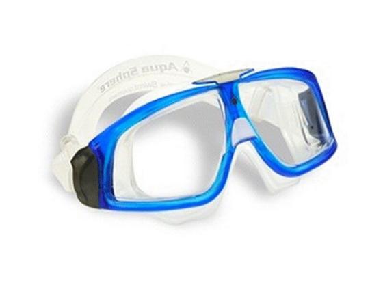 Picture of Maske - Seal 2.0 - Transparent/Blue
