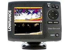 Fishfinder Elite-5x HDI - 83/200kHz + 455/800kHz (4 Frekans)
