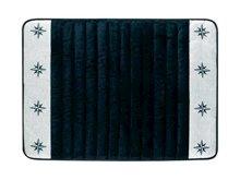Kaymaz Banyo Paspası - Yıldızlı - Navy