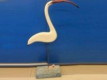 Ahşap Flamingo