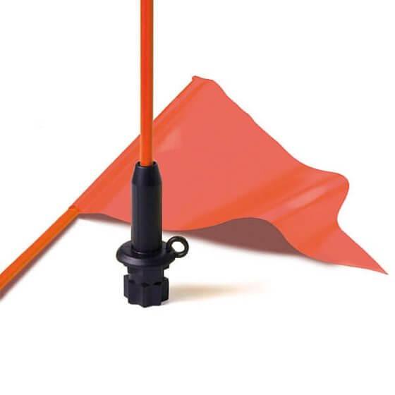 Bayrak Direği - Esnek (Kanolar Için) - 1200mm - Flama Dahil Görseli