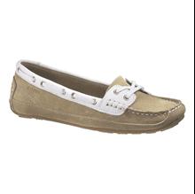Ayakkabı - Bala - Kadın - Taupe Suede/White