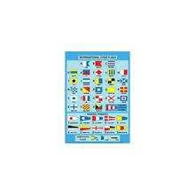 Kart - International Code Flags Card