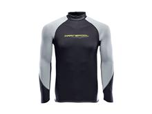Likra - Uzun Kollu - NTS Flex Shirt LS - Erkek - Grey/Black