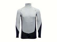 Likra - Uzun Kollu - NTS Rashguard LS - Erkek - Grey/Black