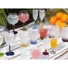 Kadeh - Mini Şampanya - Party - Renkli - 6'lı Paket Görseli