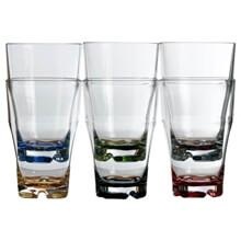 Meyve Suyu Bardağı - Party - Renkli - 6'lı Paket