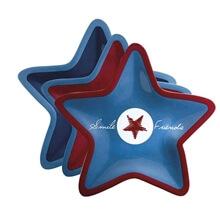 Çerez Tabağı - Enjoy LIFE - Star - 6 Parça