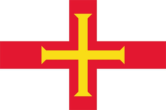 Guernsey Bayrağı Görseli