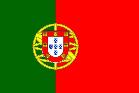 Portekiz Bayrağı Görseli