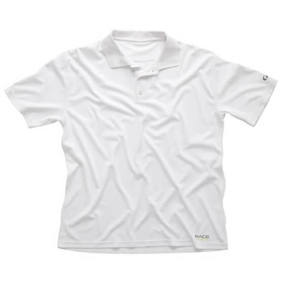 T-SHIRT - Erkek - Race Polo- Beyaz Görseli