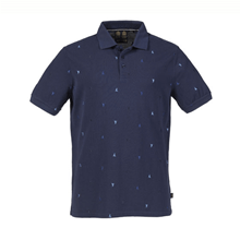 Picture of T-shirt - Erkek - Scattered Polo - Peacoat