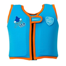 Deniz Yeleği - Sea Squad Float Vest - Blue/Orange - 4/6 Yaş