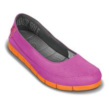 Terlik - Stretch Sole Flat - Kadın - Vibrant Violet/Orange