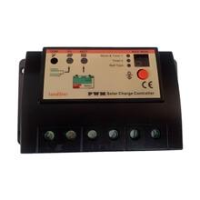 Güneş Paneli İçin Şarj Regülatörü - 20A - 12/24V- Çift Akü için
