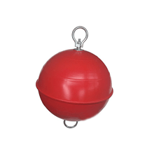 Şamandıra Küre Demirli Çap:49cm Kırmızı 45lt Poliüretan Dolgulu