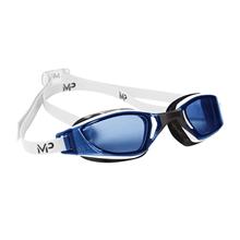 Yüzücü Gözlügü - Xceed Mavi Lens - Siyah/Beyaz Çerçeve