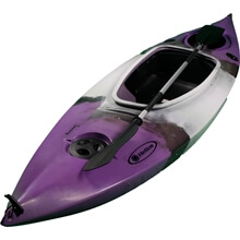 Picture of Canoe - Touring - Sit-In - 1 person - 290cm - Purple/Black (Full Accessory)