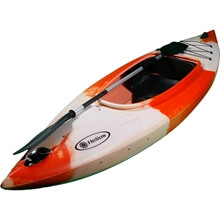 Picture of Canoe - QANO - Sit-In - 1 person - 290cm - White/Orange