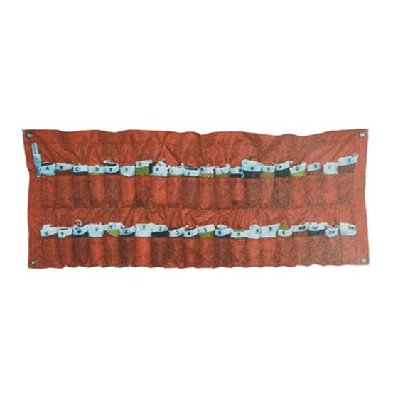 Kod Bayrağı Seti - 30x42 cm Görseli
