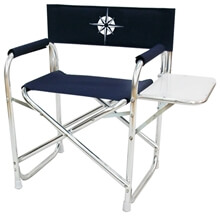 Picture of Folding Chair - Director - Navy Blue