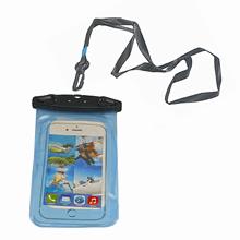 Telefon Kılıfı - Su Geçirmez - 17,5 x 10,5cm - Mavi