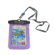 Telefon Kılıfı - Su Geçirmez - 17,5 x 10,5cm - Mor