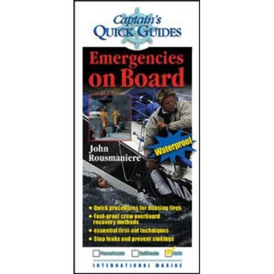 "Kitap - ""Emergencies On Board"" Görseli"
