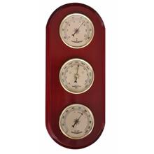 Barometre & Termometre & Higrometre Seti - Ahşap Plakalı