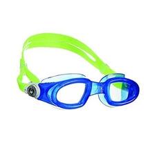 Yüzücü Gözlüğü - Mako Şeffaf Lensli - Mavi/B.Beyaz