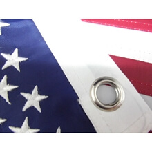 Bayrak - Amerikan - Nakışlı - 50x75 cm