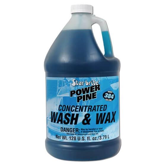Temizleyici-Power Pine Boat Wash&Wax-3,79Lt Görseli