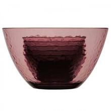Salata Kase Seti - Purple - 1 büyük 4 küçük kase
