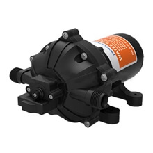 Picture of Water Pump - Diaphragm - 12v - 60Psi - 15.1lt/min