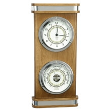 Picture of Clock / Barometer - Two-Dial Decorative Set