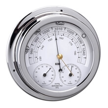 Picture of Barometer / Thermometer / Hygrometer - Chrome