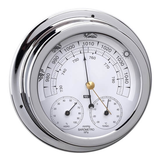 Barometre / Termometre / Higrometre - Krom Görseli
